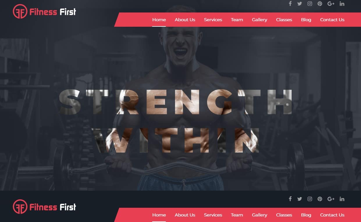 fitness-first-fitness-website-templates