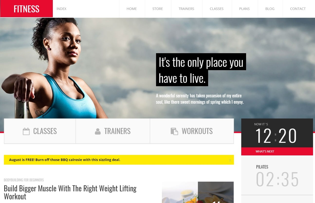 fitness-fitness-website-templates
