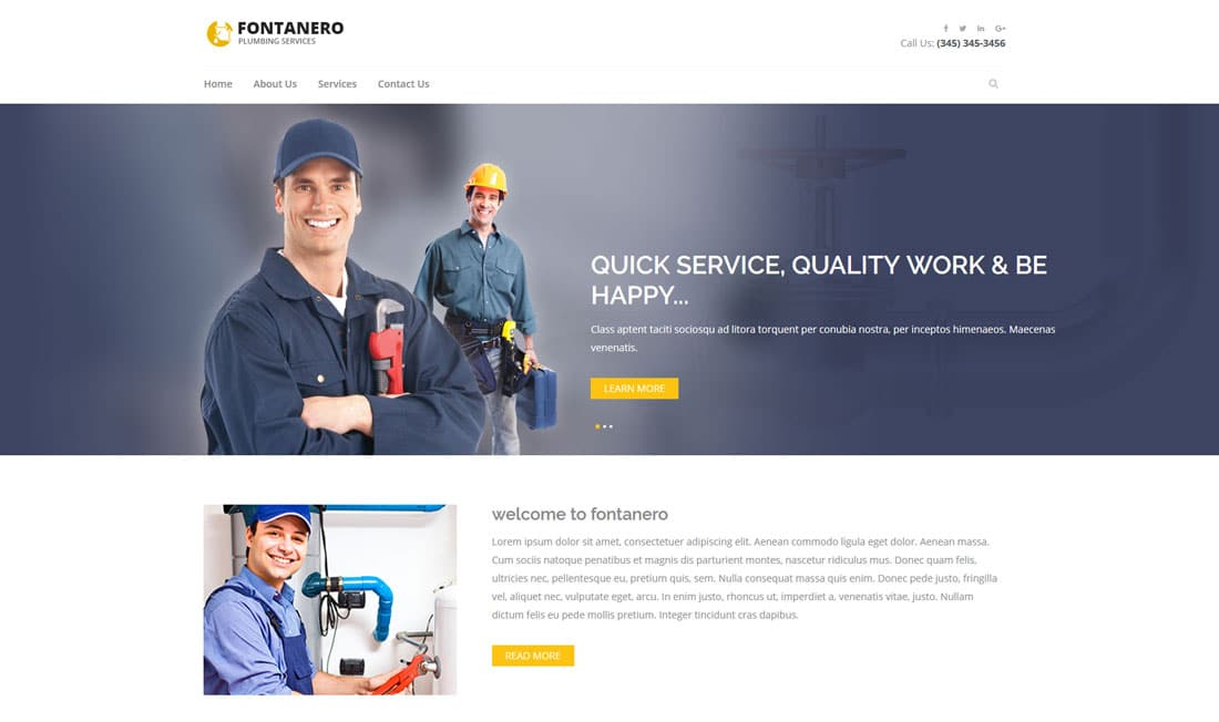 fontanero-free-construction-website-templates