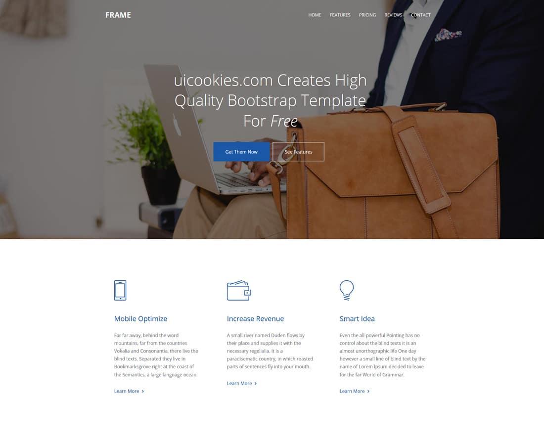 frame-free-fitness-website-templates