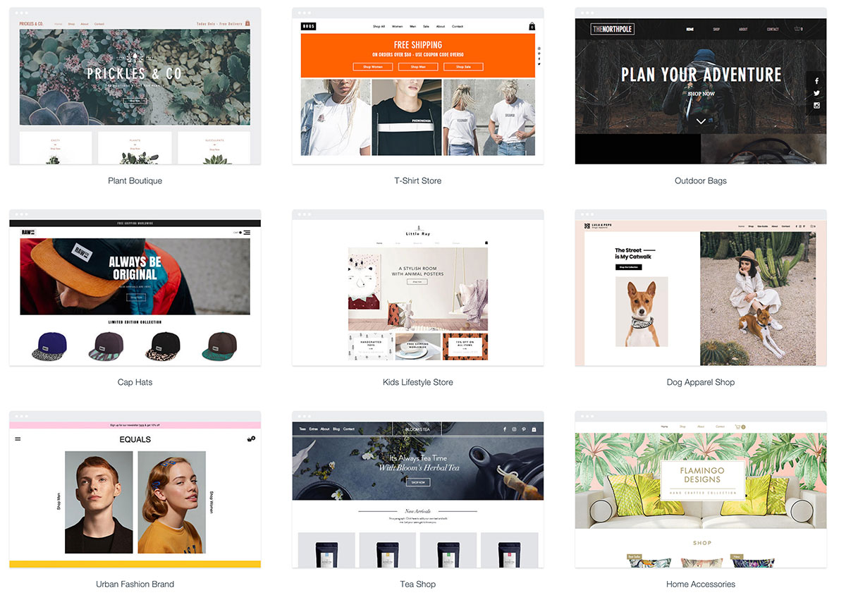 Free ecommerce website templates images professional for Free ecommerce website templates