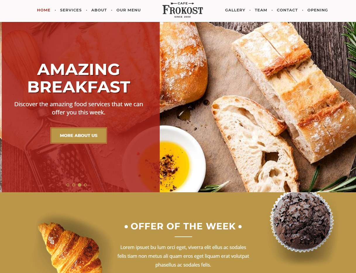frokost-html-restaurant-website-templates