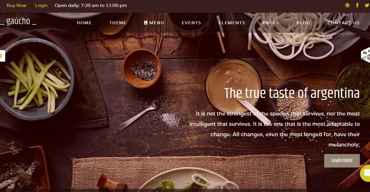 gaucho-html-restaurant-website-templates