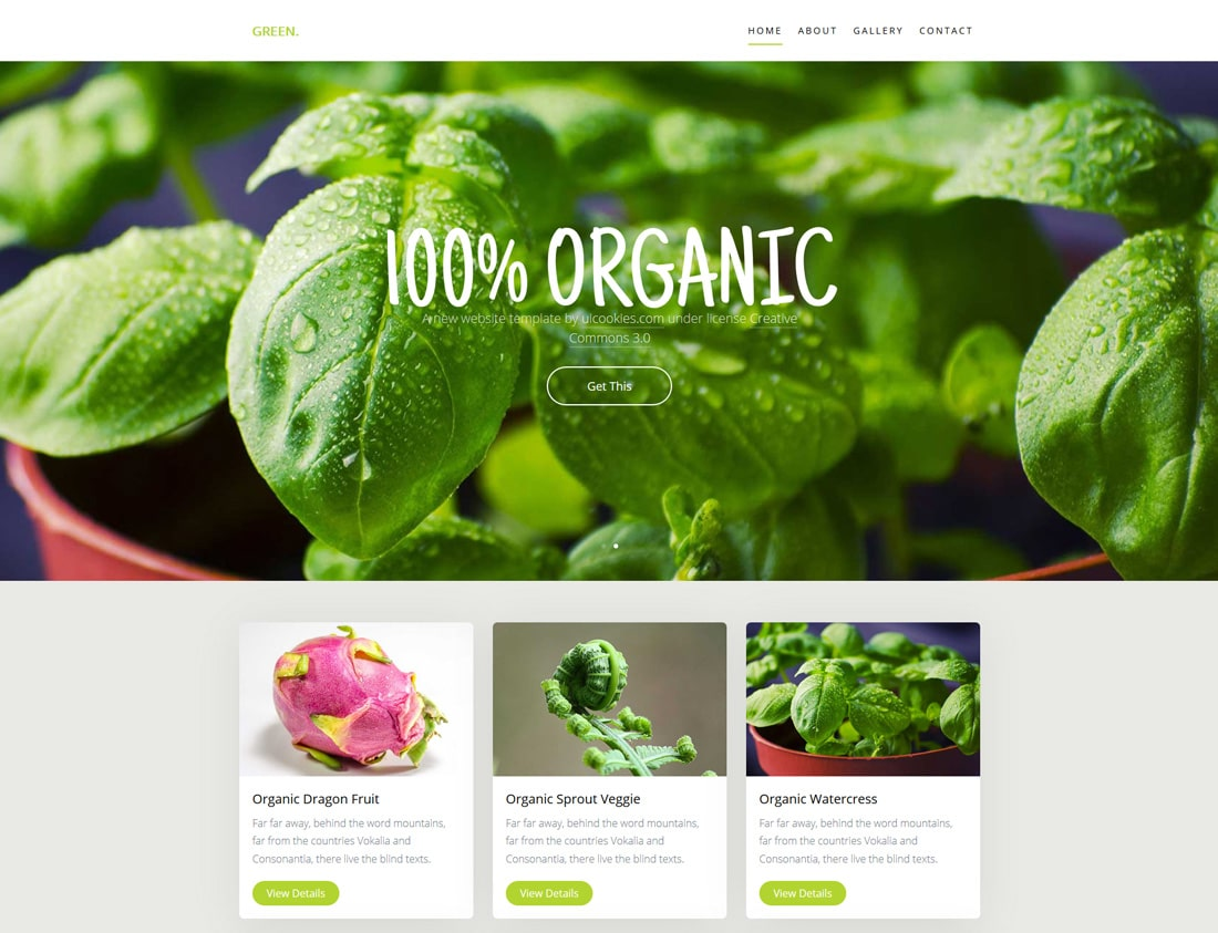 green-free-restaurant-website-templates