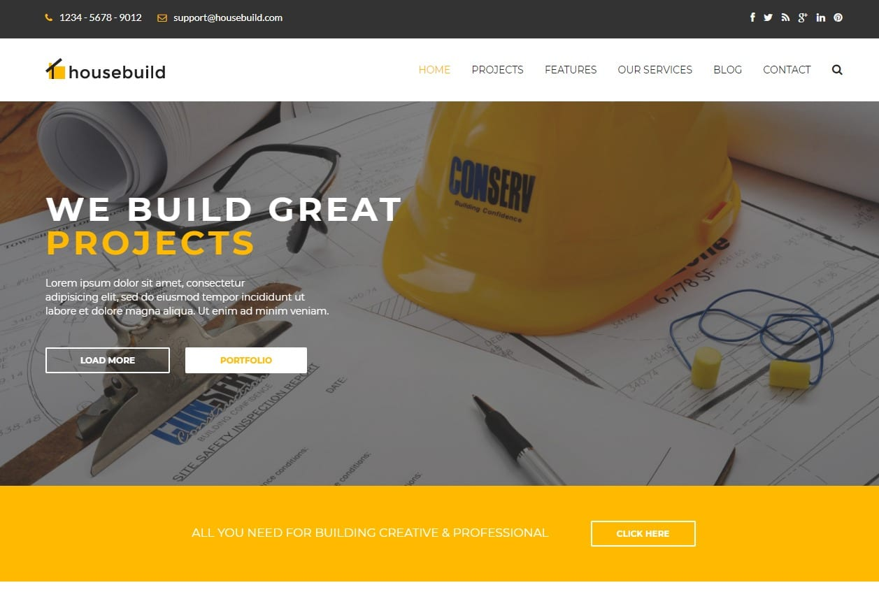 house-build-html-construction-template