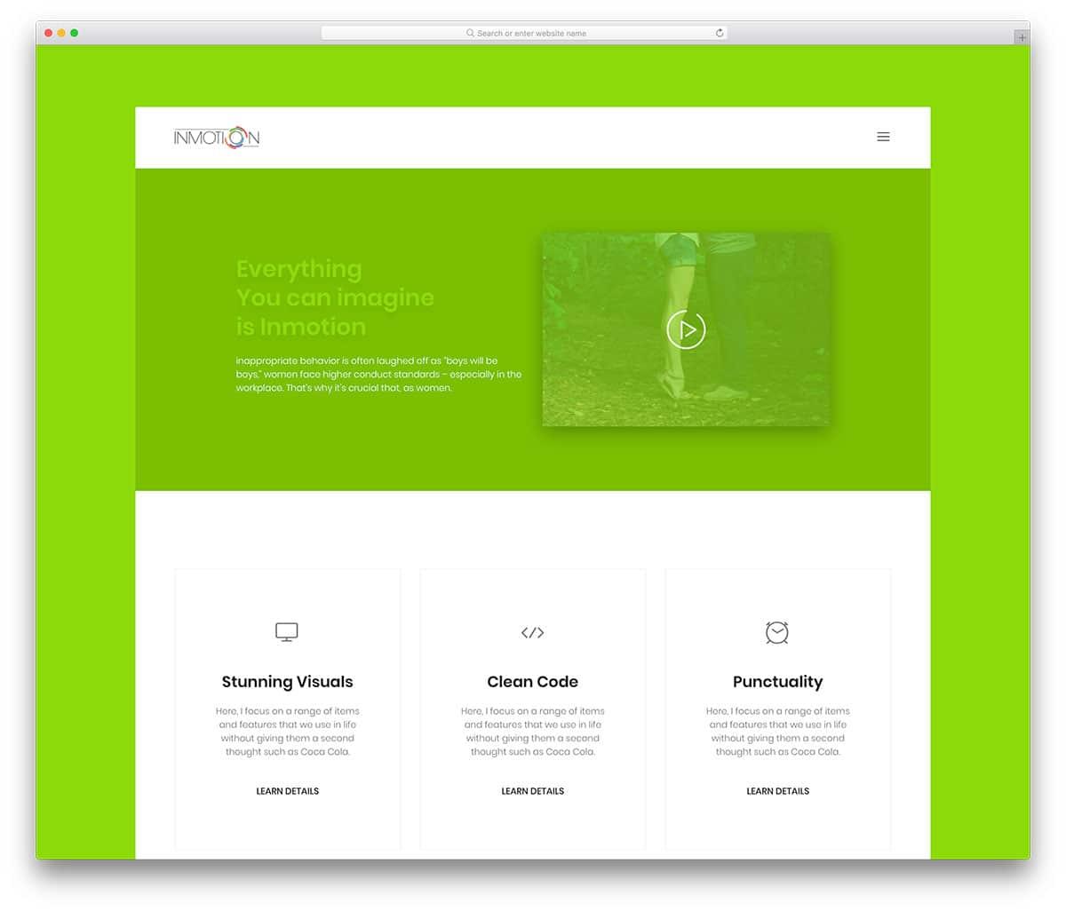 inmotion-free-landing-page-templates