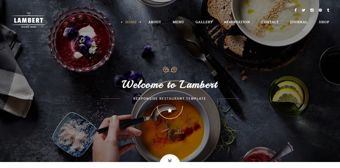 lambert-html-restaurant-website-templates