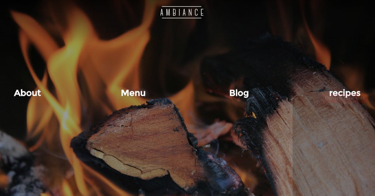 lambience-html-restaurant-website-templates