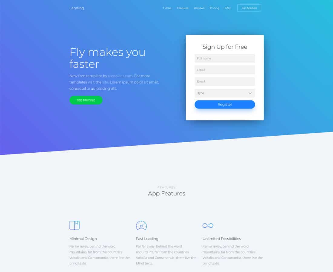 landing-free-one-page-website-templates