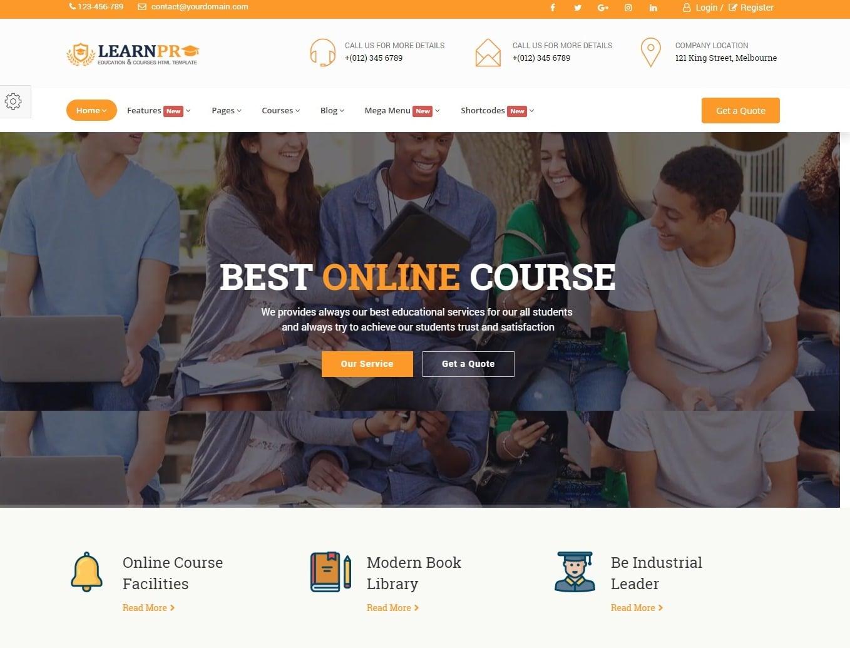 learn-pro-education-website-template