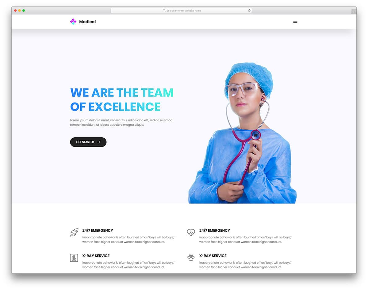 medical-free-medical-website-templates
