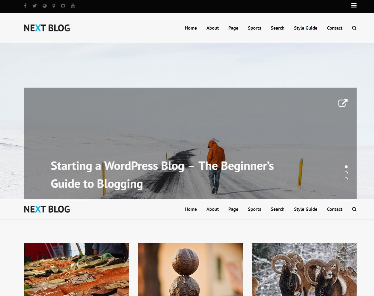 next-blog-html-template