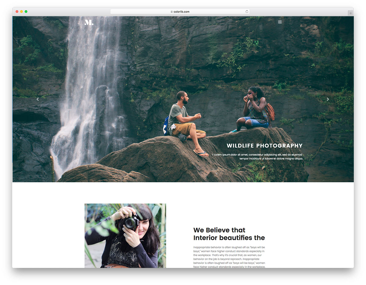 photography-free-travel-website-templates
