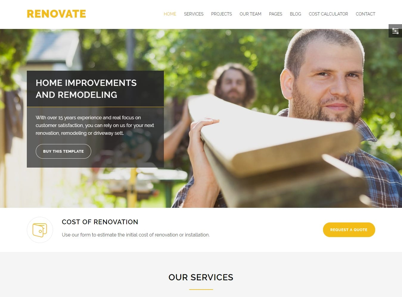 renovate-html-construction-template