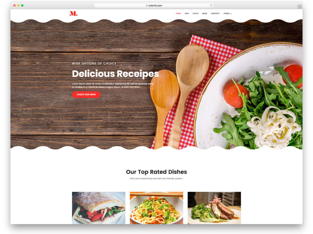 20 best ever free restaurant website templates of 2018 restaurant free restaurant website templates maxwellsz