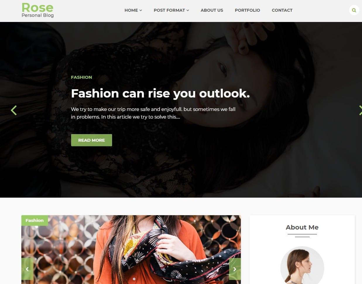 rose-blog-html-template
