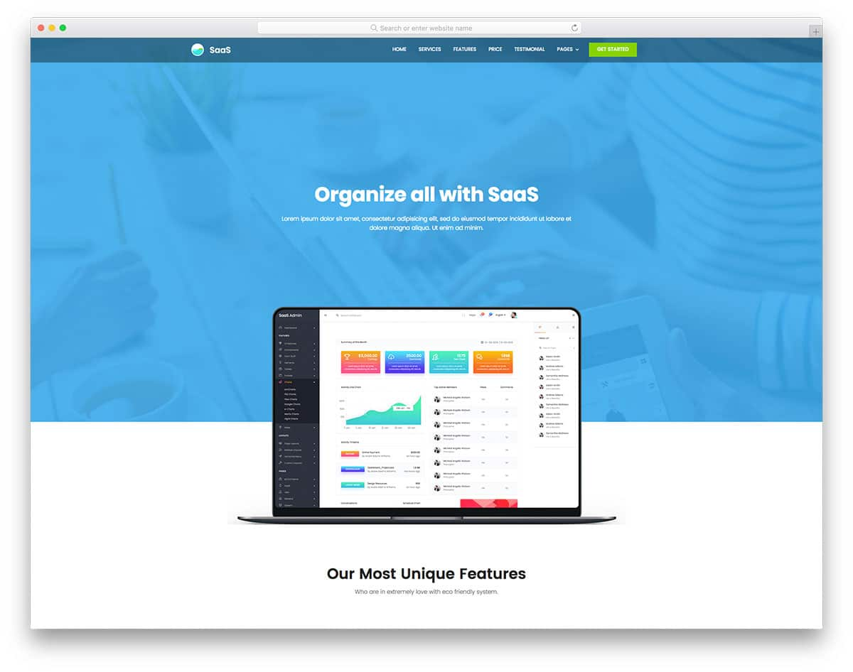 saas-free-one-page-website-templates
