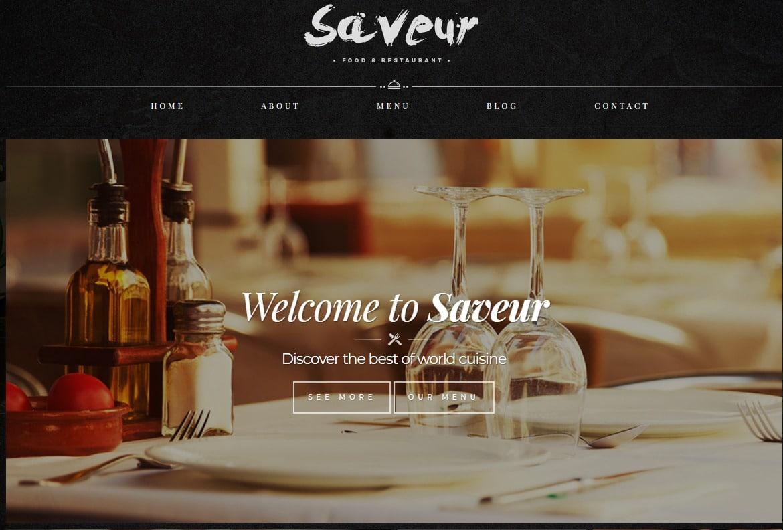 25 stunning html bootstrap restaurant website templates 2019