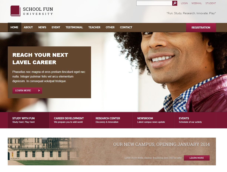 school-fun-html-education-website-template