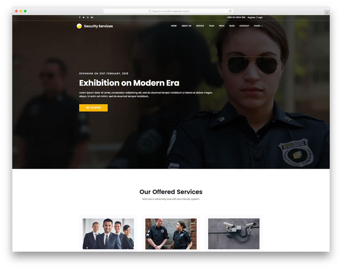 security-free-construction-website-templates