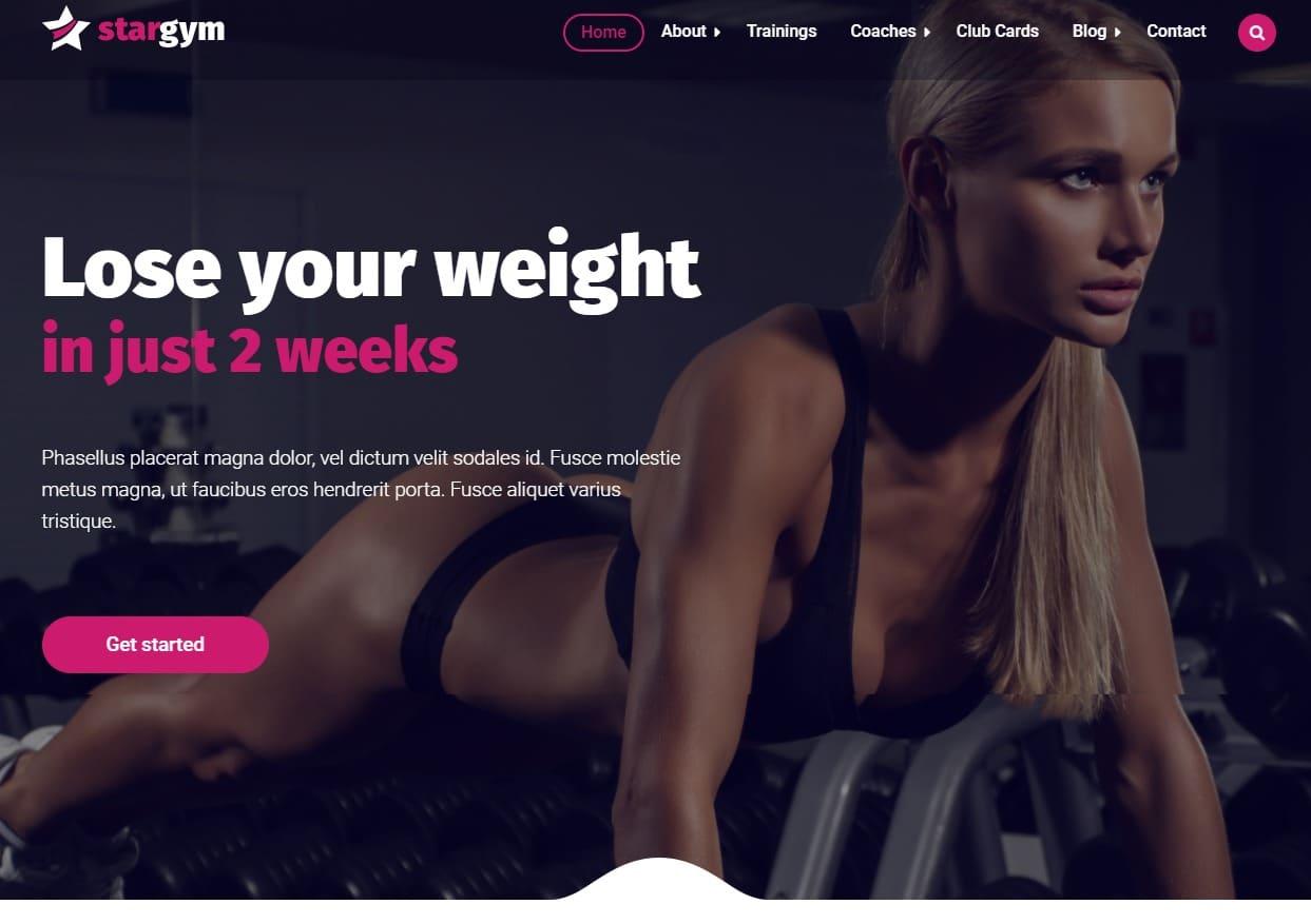 stargym-fitness-website-templates