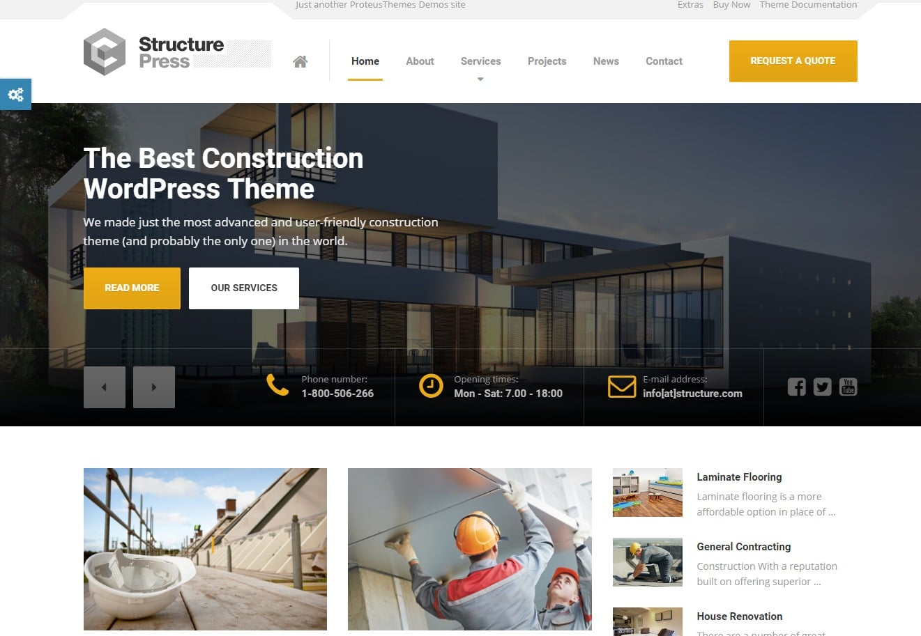 structure-press-html-construction-template