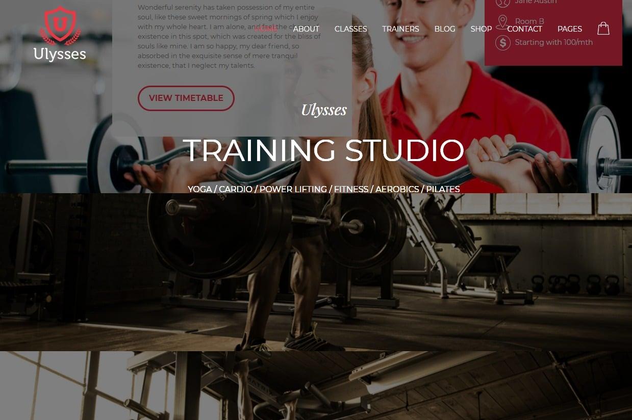 30 Best Responsive HTML5 Fitness Website Templates for 2019