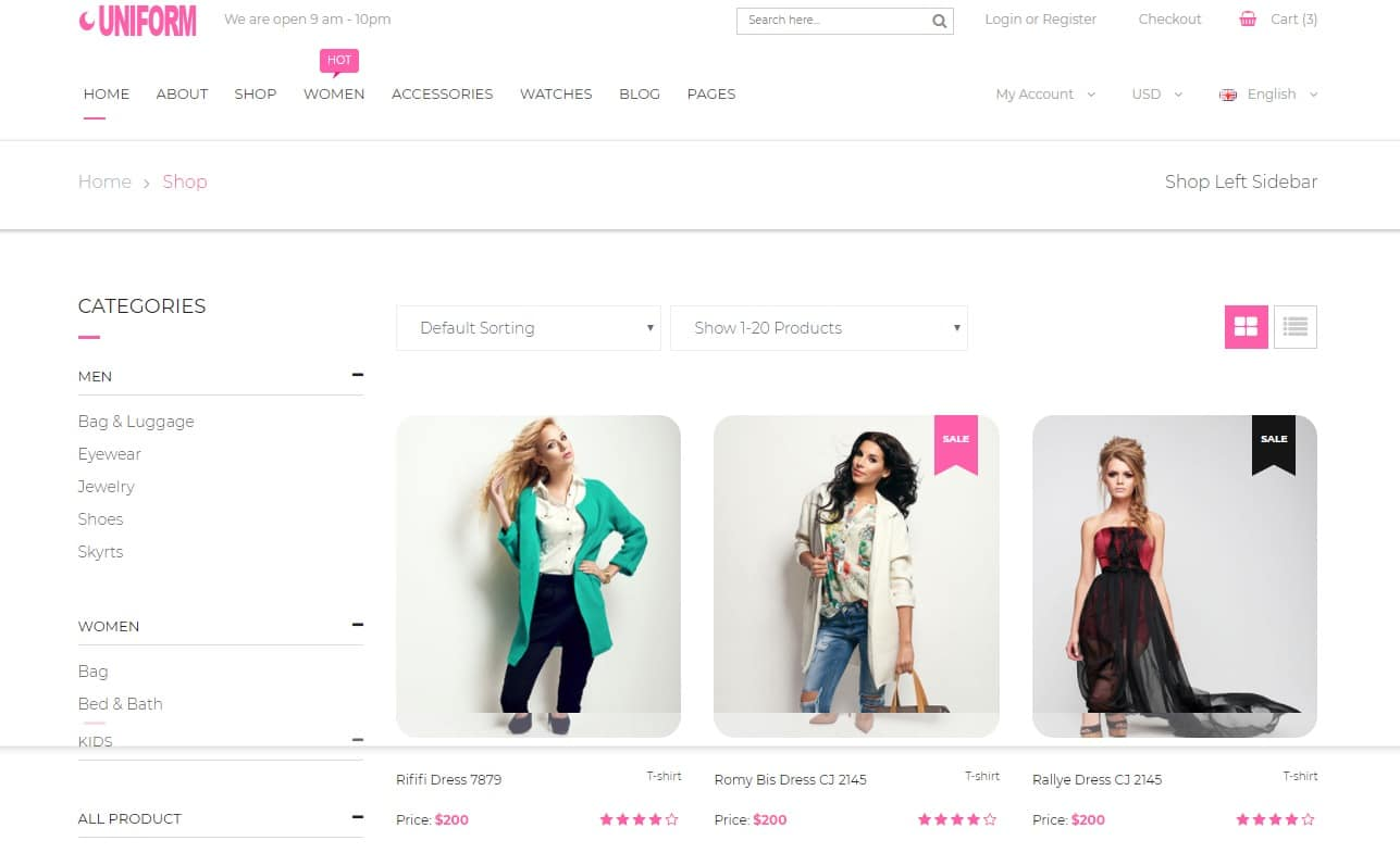 uniform-ecommerce-website-html-templates