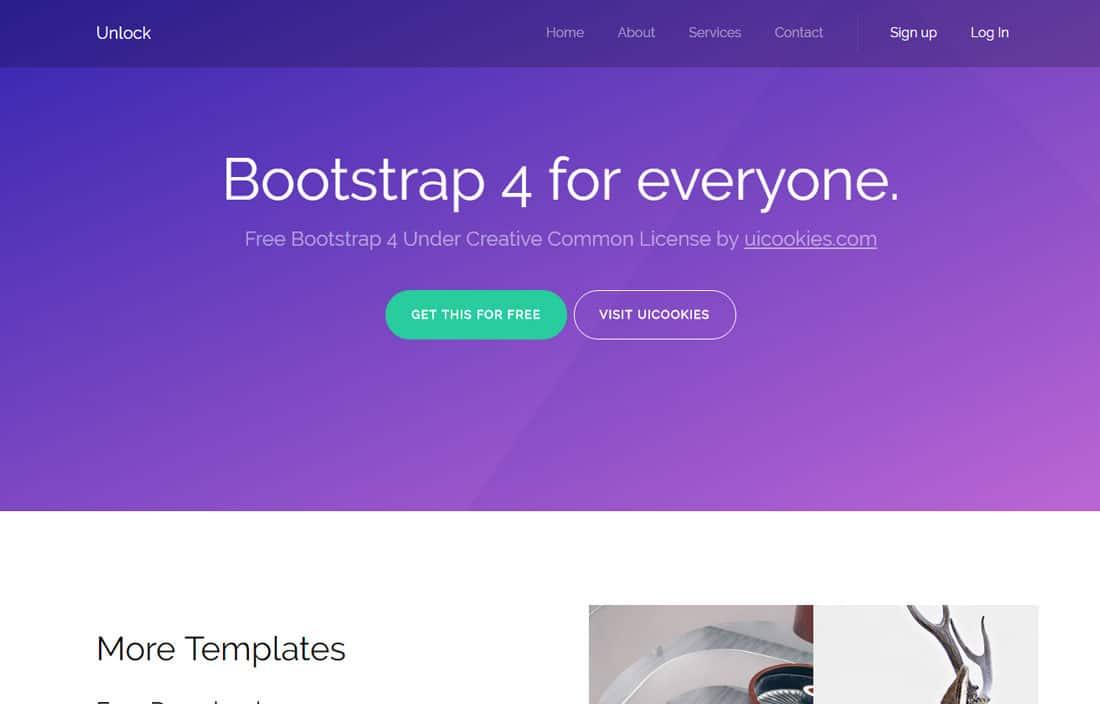 unlock-free-landing-page-templates
