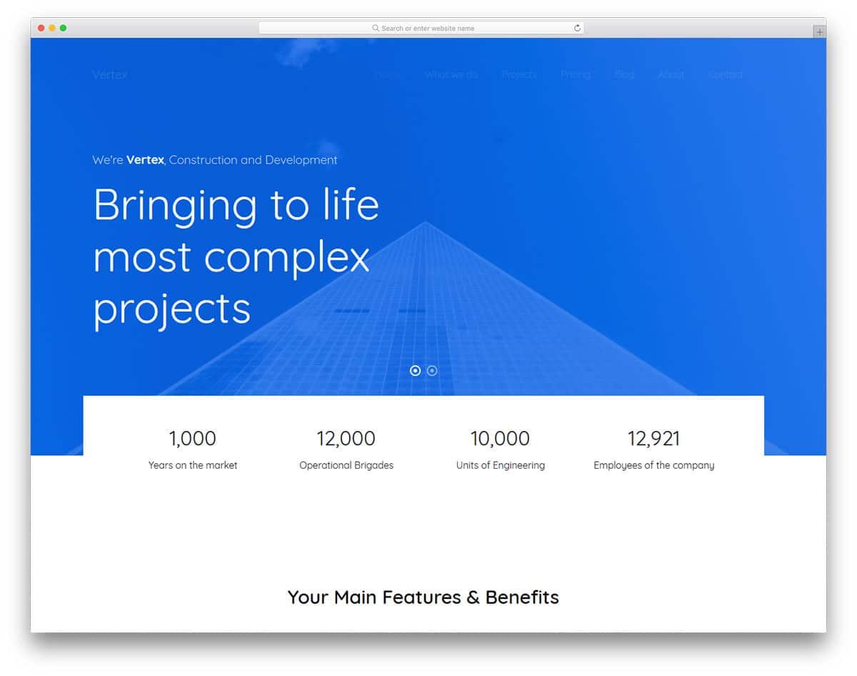 vertex-free-construction-website-templates