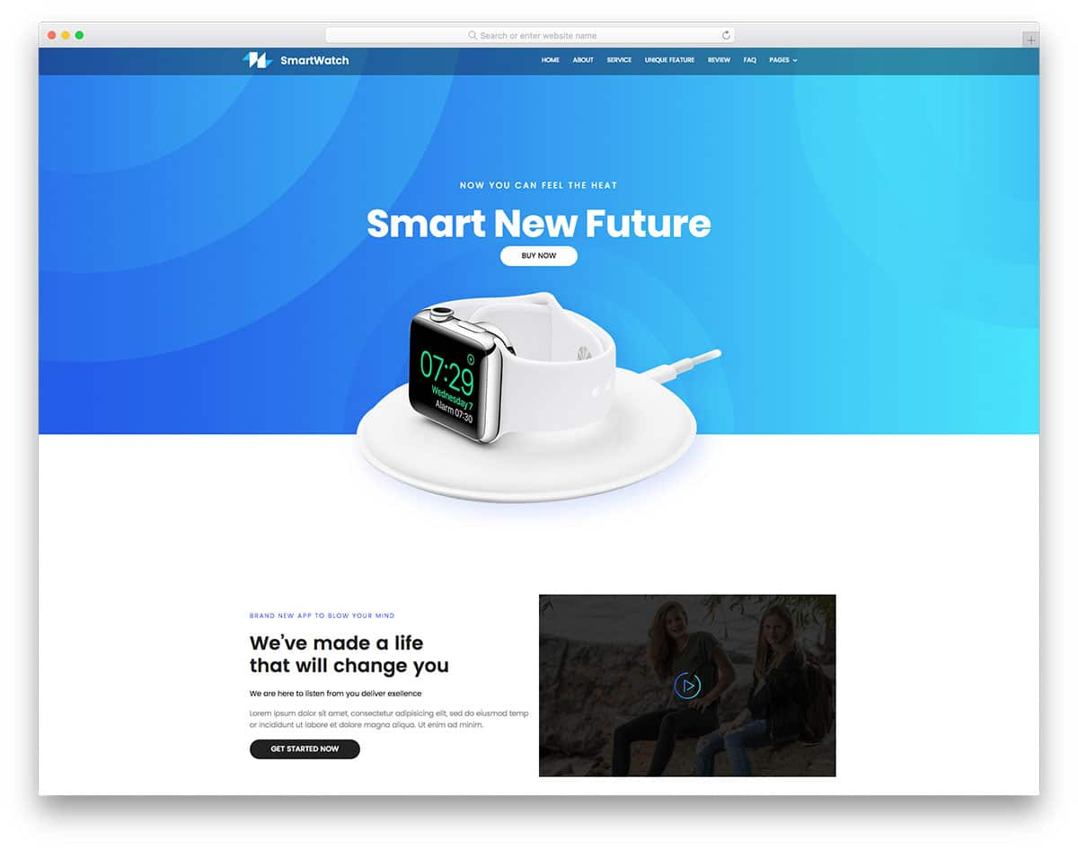watch-free-simple-website-templates
