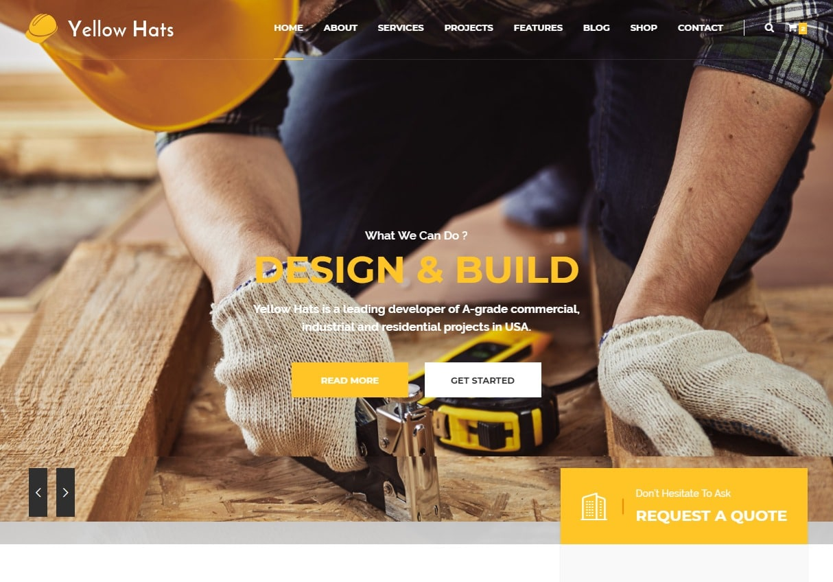 yellow-hats-html-construction-template
