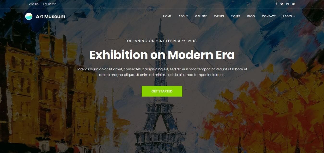 Art-Museum-Free-Responsive-Website-Templates