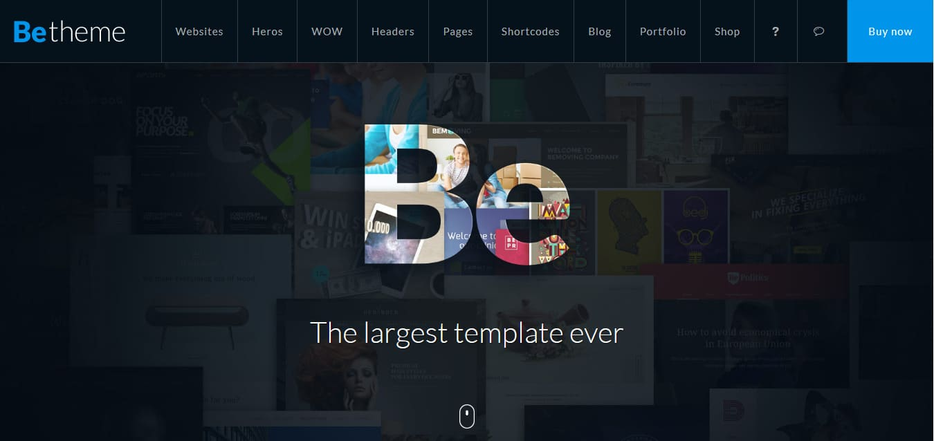 BeTheme HTML-Photography-Template