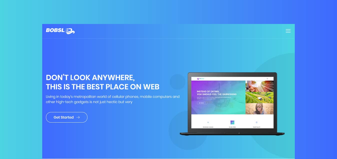 Bobsled-Free -Startup-Website-Templates