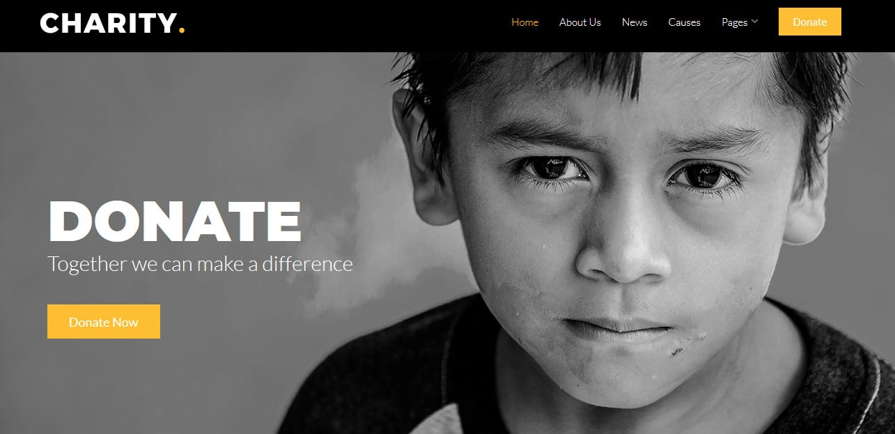 Charity-Free-Responsive-Website-Templates