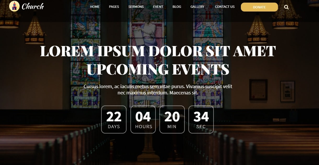 Church-HTML-website-Template