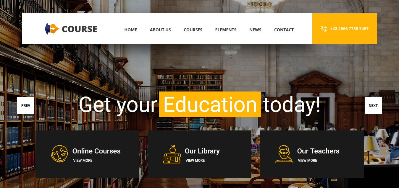 Course-Free-Responsive-Website-Templates