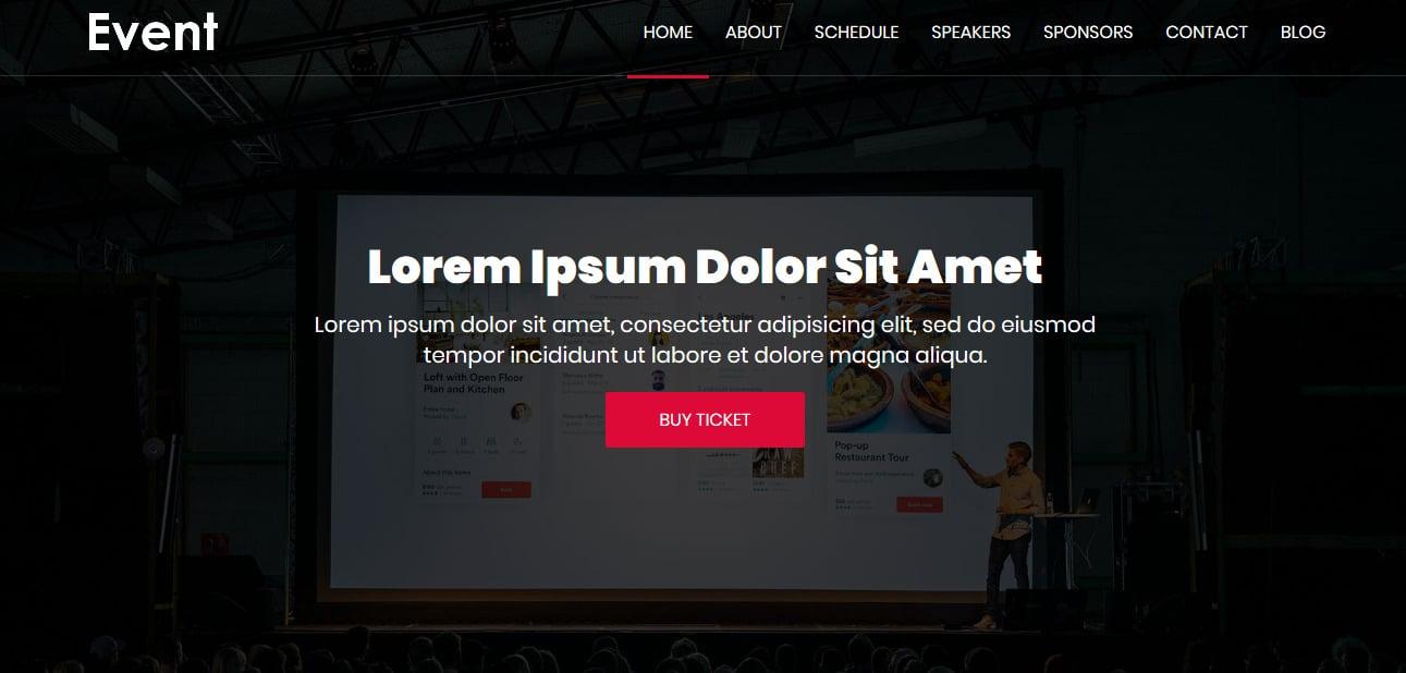 Event-Free-Responsive-Website-Templates
