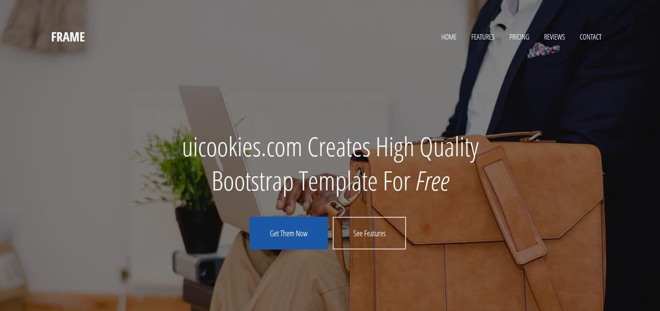 Frame-Free-Startup-Website-Templates