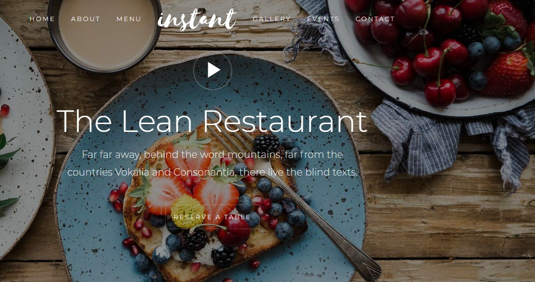 Instant-Free-Restaurant-Bootstrap-Template