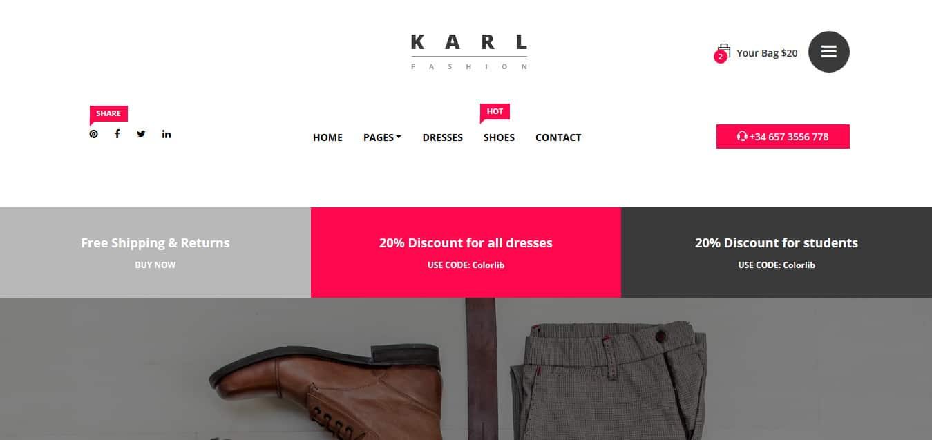 Karl-Free -Startup-Website-Templates