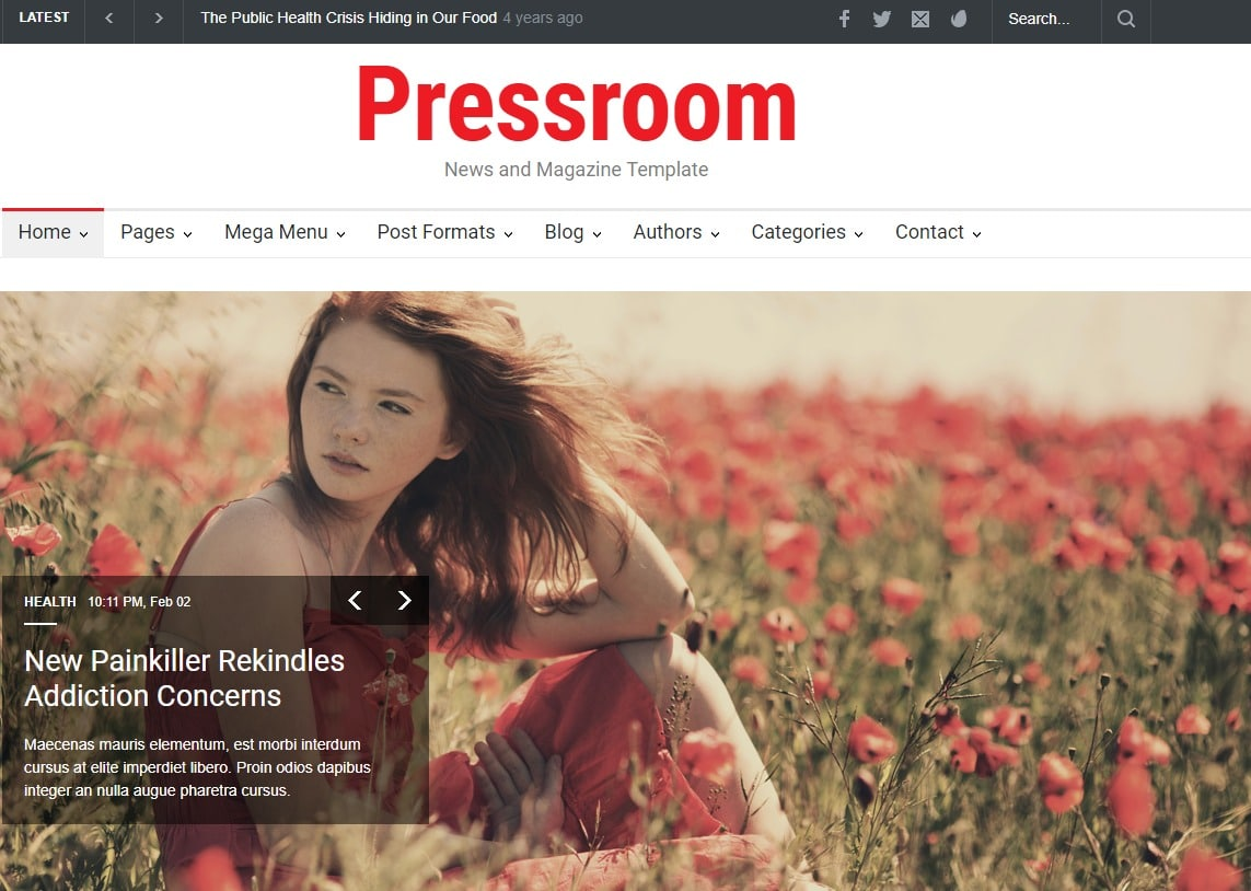 Pressroom-fashion-templates