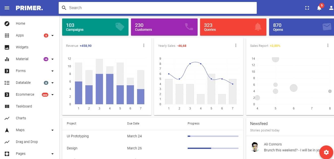 Primer-admin-dashboard-template