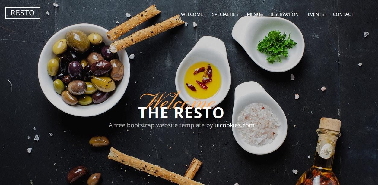 Resto-Free-Responsive-Website-Templates