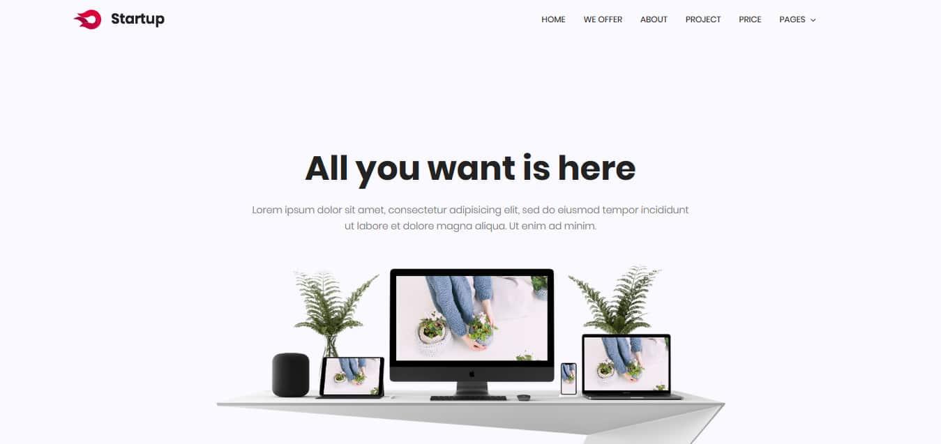 Startup-Free -Startup-Website-Templates
