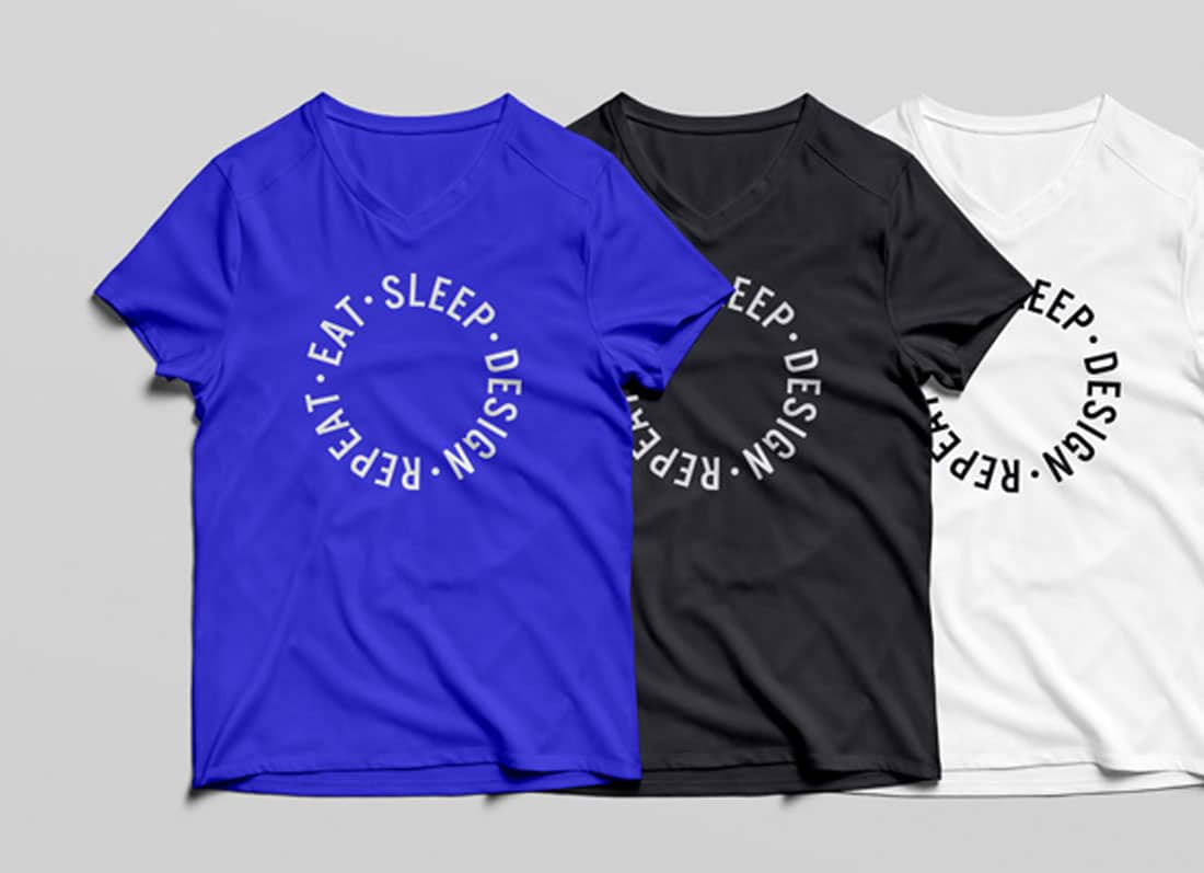 c93c9baa 38 Free T-Shirt Mockups In Easy To Use PSD Format 2019 - uiCookies