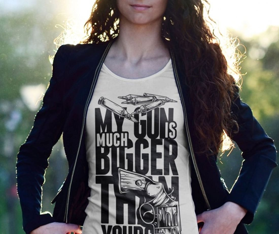 Women-T-shirt-Mockup-With-Model-2
