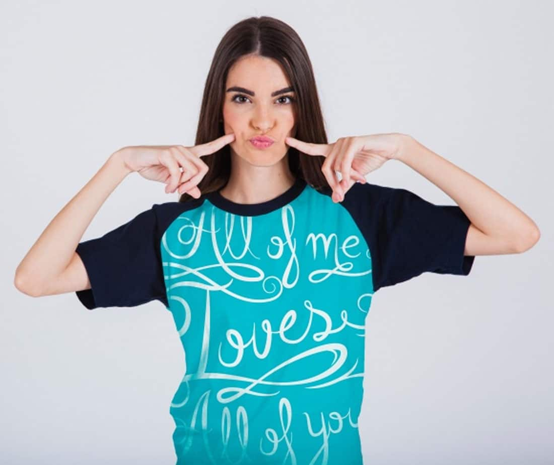 Women-T-shirt-Mockup-With-Model-7