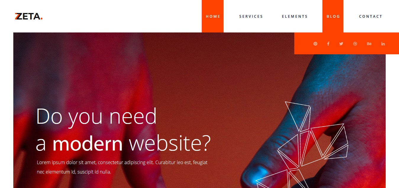 Zeta-Free -Startup-Website-Templates